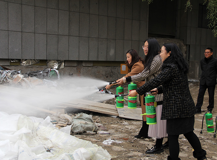Henan Museum Conducts Training on Fire Protection and safety