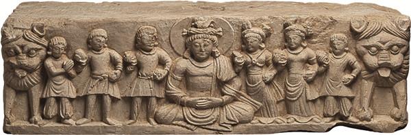 Temporary exhibition in Henan Museum -- Gandhara Buddhist Art Exhibition